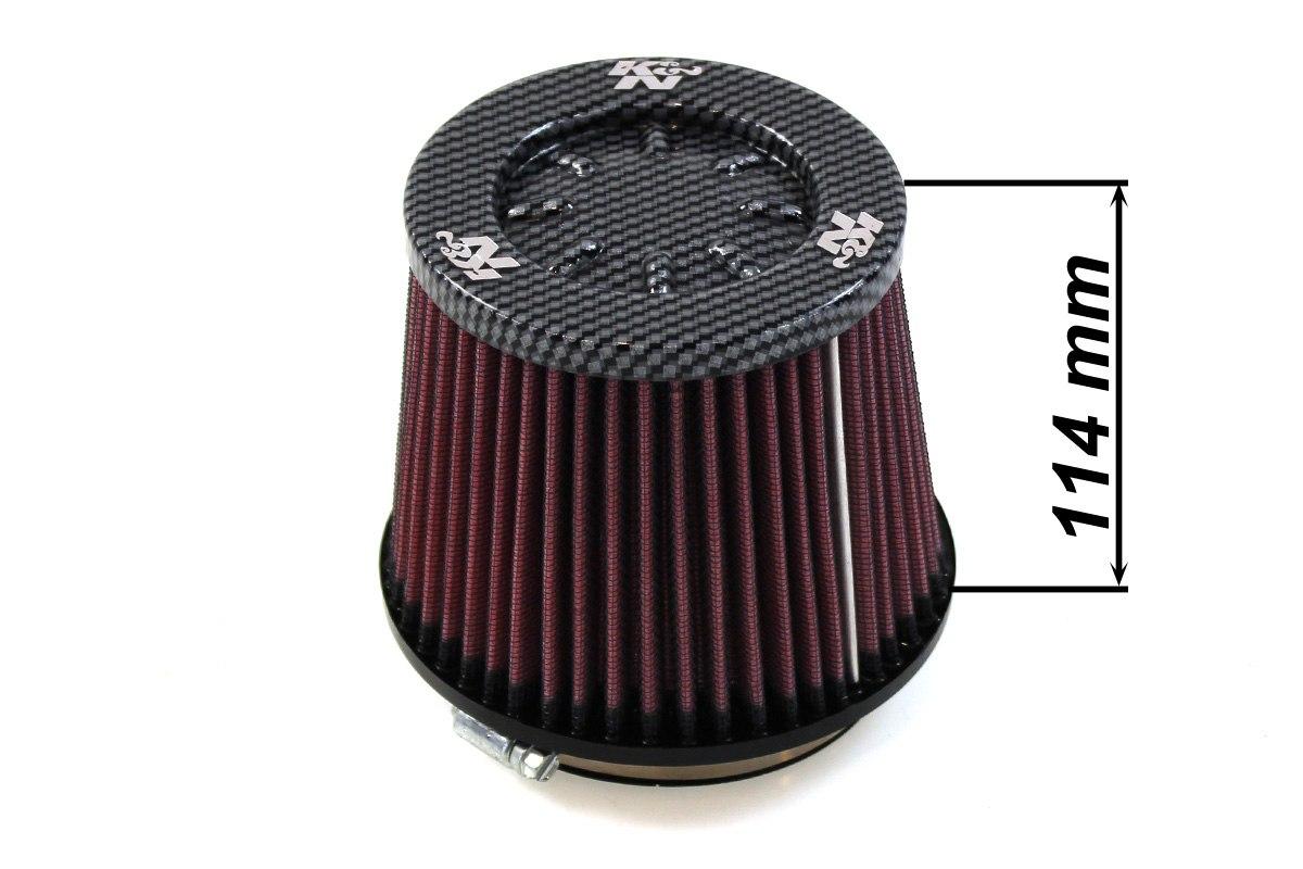 Filtr stożkowy K&N RC-5059 100mm - GRUBYGARAGE - Sklep Tuningowy